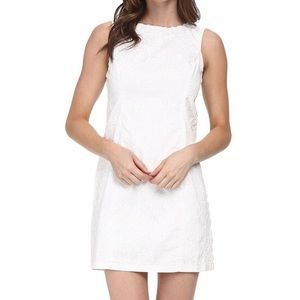 Lily Pulitzer Mila Shift Dress In Royal White